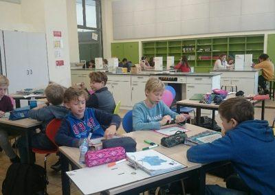 klasopstelling Durlet